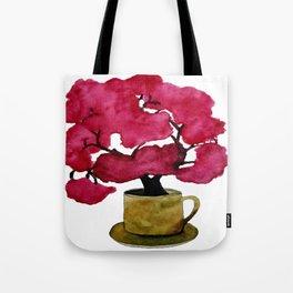 Cherry blossom Tree in Mug Tote Bag