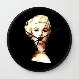 Marilyn - Pop Art - Monroe Wall Clock