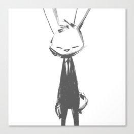 minima - beta bunny pose Canvas Print