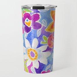 flower toss Travel Mug