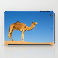 camel iPad Cases featuring Camel by Chantal Seigneurgens