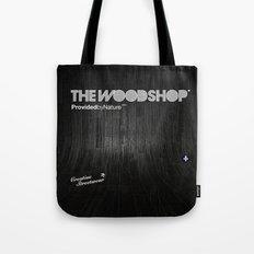 Back Ebony Tote Bag