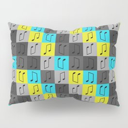 Musical repeating pattern No.4, Collection No.1 Pillow Sham
