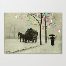 Christmas Day Canvas Print