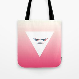 Angry Emote Aesthetics Tote Bag