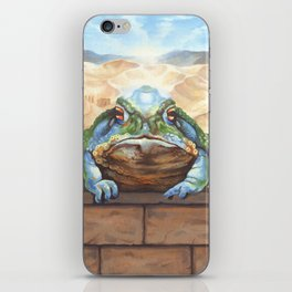 Dust Toad iPhone Skin