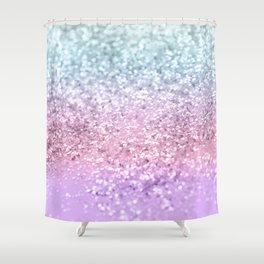 Unicorn Girls Glitter #4 #shiny #pastel #decor #art #society6 Shower Curtain