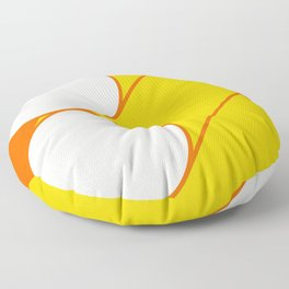 sunshine tubes a Floor Pillow