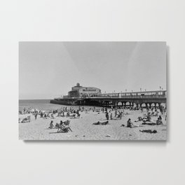 Bournemouth Pier - Summer In England Metal Print