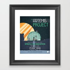 The Artemis Project Framed Art Print