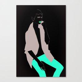 I am not Canvas Print