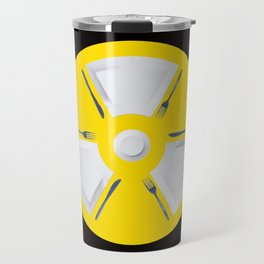 Polluted - Dinner Time Symbol Travel Mug