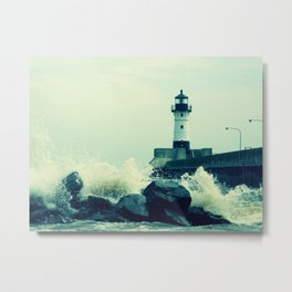 Breakwater Lighthouse - 2 Metal Print