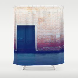 Liquid Road Shower Curtain