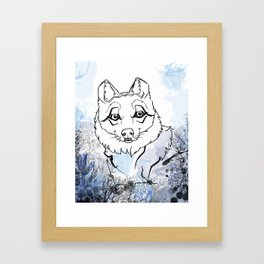Mexican Wolf Framed Art Print