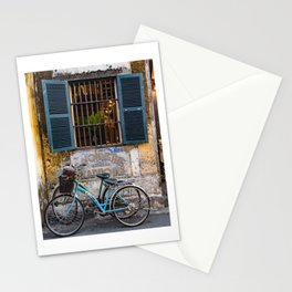 Savonnerie and Bicycles, Hoi An Ancient Town, Vietnam Stationery Cards