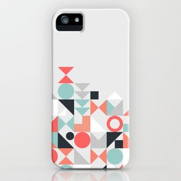 Modern Geometric 29 iPhone Case