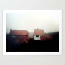 Foggy Day Art Print