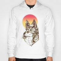 kitsune Hoodies featuring Kitsune by South Spire Seven