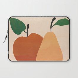 An Apple and a Pear Laptop Sleeve