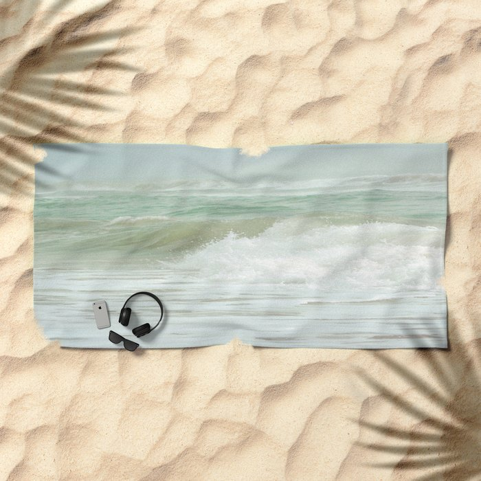 Sea Green Beach Towel