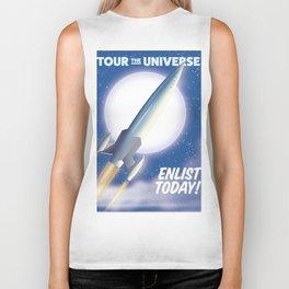 Tour the Universe! Biker Tank
