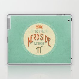 Come to the Nerd Side Laptop & iPad Skin
