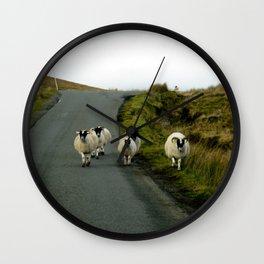 Sheep Gang Wall Clock