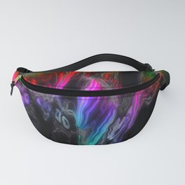Rainbow Monsters Fanny Pack