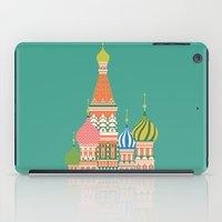 moscow iPad Cases featuring Moscow by Chay Lazaro