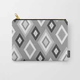 Diamond pattern - monochrome Carry-All Pouch