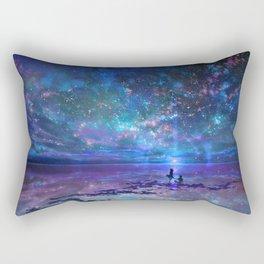Ocean, Stars, Sky, and You Rectangular Pillow