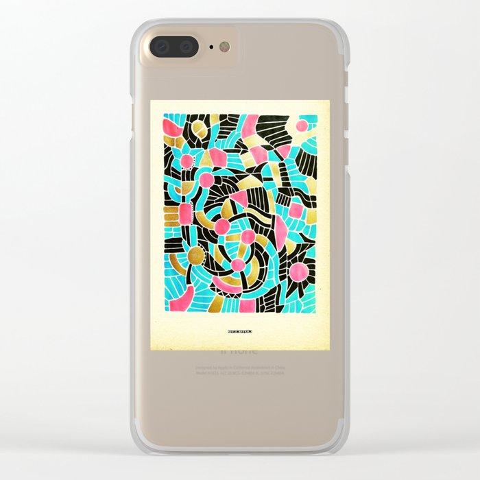- summer jump - Clear iPhone Case