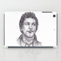 jake iPad Cases featuring Jake Peralta by jamestomgray