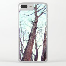 Dances With Deer Clear iPhone Case