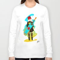 transistor Long Sleeve T-shirts featuring Transistor by James Harrington