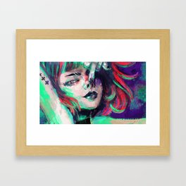 swine Framed Art Print