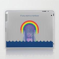 Rainbow Needs Rain Laptop & iPad Skin