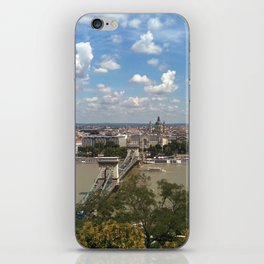 Budapest /Danube River/ Summer/ sunshine iPhone Skin
