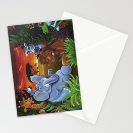Jungle Mural Stationery Cards