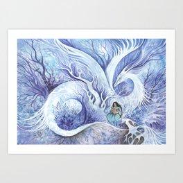 My Familiar Dream Art Print