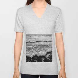 The waves Unisex V-Neck