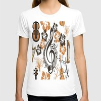 baroque T-shirts featuring Baroque music by Carolina Duran