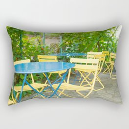Dinner in the French Countryside Rectangular Pillow