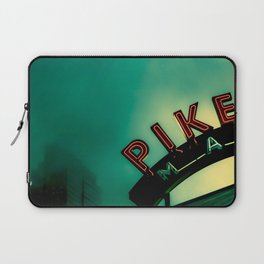 Pike Place Market at Dawn Laptop Sleeve