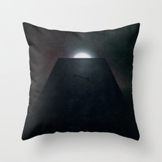 2001 A Space Odyssey alternative movie poster Throw Pillow