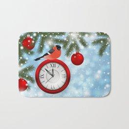 Christmas or New Year decoration Bath Mat
