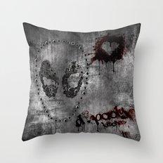 D.Pooly Throw Pillow
