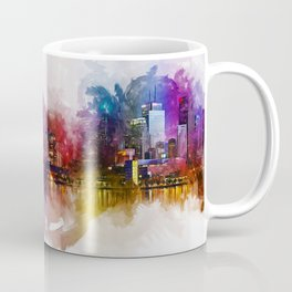 Toronto Canada Skyline Art Coffee Mug