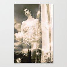 Silent Film Canvas Print